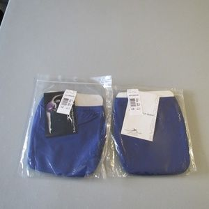 Girls Blue MotionWear Dance Briefs Size Large